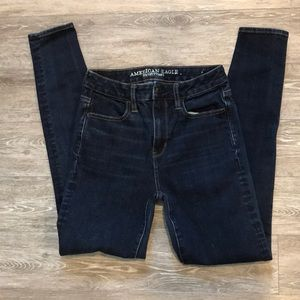 2/$40 American Eagle super high rise jegging pants